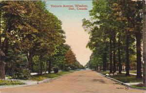 Victoria Avenue, Windsor, Ontario, Canada,PU-1914