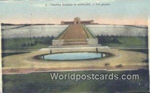 Vue Generale Vimetiere Americain de Romagne, France, Carte, Unused