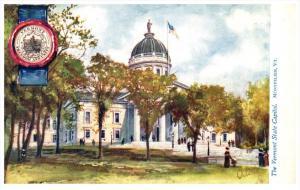 Vermont   Montpelier , State Capitol  Vermont , Tuck 2454