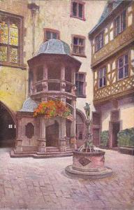Romer, Wendeltreppe, Frankfurt a. Main (Hesse), Germany, 1900-1910s
