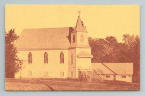 Sandusky United Methodist Church Iowa Postcard