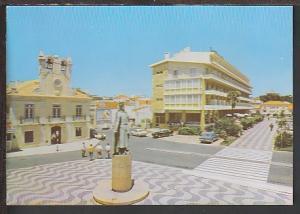 Street Scene Cascais Portugal Postcard BIN