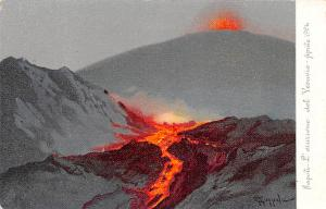 Israel Napoli, Volcano 1906  Napoli, Volcano 1906