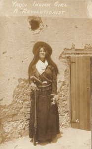 RP: Yaqui Indian Girl A Revolutionist , Mexican Revolution , 00-10s