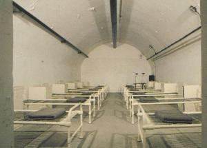 Jersey German Military Underground Hospital Ward Photo Postcard