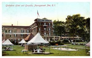 Rhode Island Narragansett Pier , Gladstone Hotel and Grounds