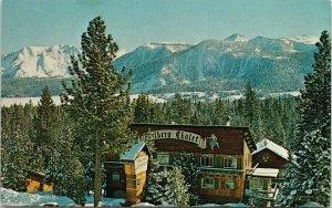 The Arlberg Chalet Mammoth Lakes CA High Sierra Unused Vintage Postcard F65