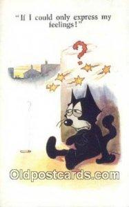 Series 4917 Felix the Cat Postcard Post Card 1925
