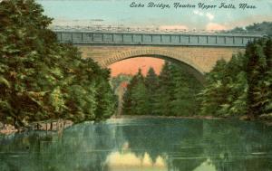 MA - Newton. Newton Upper Falls, Echo Bridge