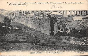 Morocco Constantine Le Pont Sidi-Rached, Bridge General view