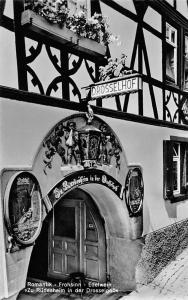 Romantik Frohsinn Edelwein Zu Ruedesheim in der Drosselgass