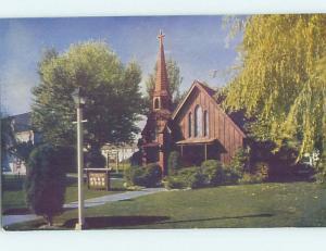 Unused Pre-1980 CHURCH AT LAST FRONTIER CASINO Las Vegas Nevada NV A5899-12