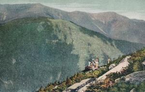 Mount Lafayette from Cannon - Franconia Notch, White Mountains, New Hampshire