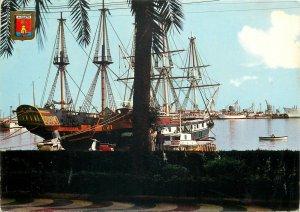 Sailing vessels navgation Postcard Sailboats at Alicante