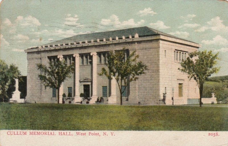 WEST POINT, New York , PU-1910; Cullum Memorial Hall