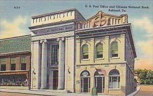 Pennsylvania Ashland US Post Office and Citizens National Bank