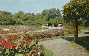 CHICAGO, Illinois, 1950-60s; Flower Garden, Humboldt Park