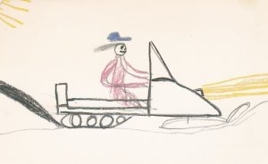 FORT RESOLUTION , NWT, Canada, Expo-1986 ; Child Art