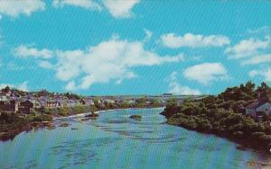 Maine Caribou Potato Sheds On Banks Of The Aroostook River 1969