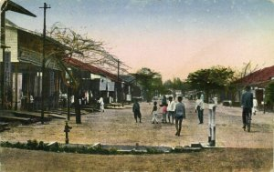 indonesia, BORNEO BALIKPAPAN, Passar Klandasan (1920s) Postcard