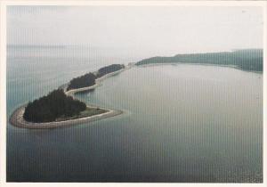 Canada British Columbia Aerial View Rebecca Spit