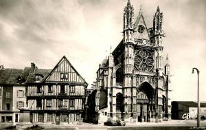 France - Vernon. The Cathedral