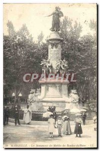 Old Postcard Marseille Monuments Mobile Bouches du Rhone
