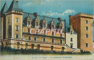 Old Postcard Pau National Chateau