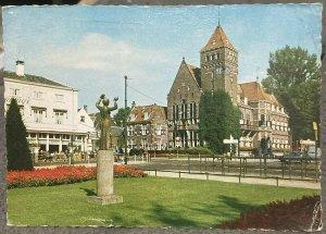 Netherlands Zeist Rond met Gemeentehuis - posted 1967