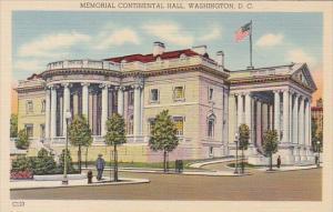 Washington DC Memorial Continental Hall