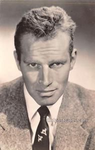 Charlton Heston Movie Star Actor Actress Film Star Unused