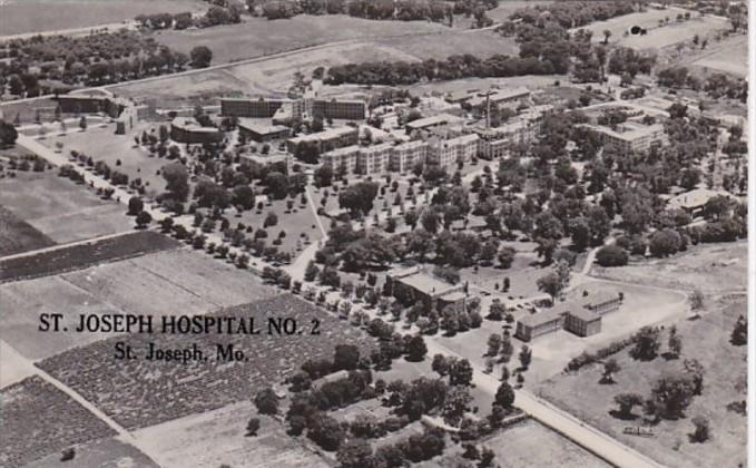 Missouri St Joseph Hospital No 2 Real Photo