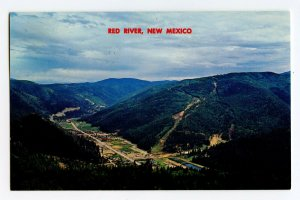 Postcard Red River New Mexico From T. V. Hill Standard View Card