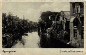 CPA APPINGEDAM Gezicht op Damsterdiep NETHERLANDS (705996)