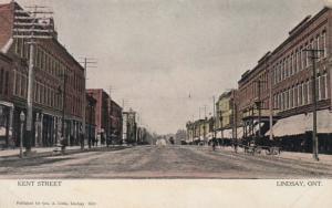 LINDSAY , Ontario, Canada , 1907 ; Kent Street