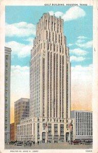 Houston Texas Gulf Building Vintage Postcard AA7619