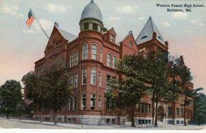 BALTIMORE , Maryland , 00-10s ; Western Female High School