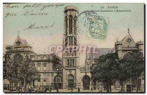 Old Postcard Paris Saint Germain l Auxerrois