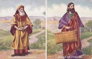 Religious Figure Simon The Caananite & Simon Of Cyrene