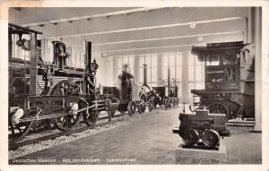Train Deutsches Museum Abt. Landverkehr Lokomotiven Echt Foto