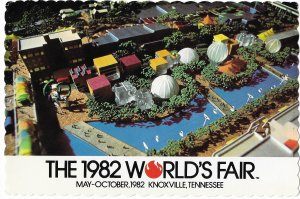 Aerial View of 1982 World's Fair Knoxville  Tennessee May-Oct 4 by 6