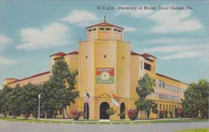 Florida Coral Gables University Of Miami Curteich