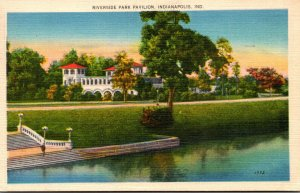 Indiana Indianapolis Riverside Park Pavilion 1946