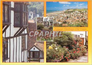 Modern Postcard Hastings Old Town