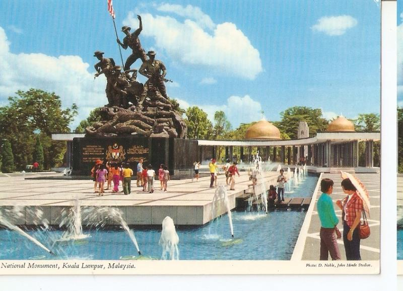 Postal 045925 : National Monument Kuala Lumpur Malaysia