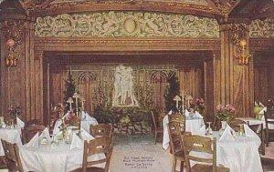 Illinois Chicago Hotel La Salle Three Graces Restaurant Blue Fountain Room