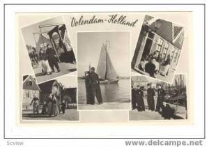 RP Netherlands, 1930-40s Volendam-Holland 5-views natives