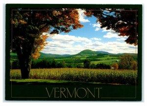 Postcard VT Vermont - Farm Country M2