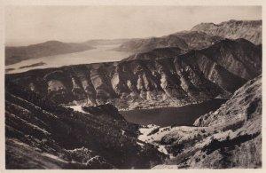 Boka Kotorska Montenegro Bosnia Antique Aerial Postcard