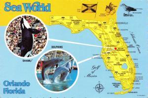 Postcard Sea World Orlando Florida USA United States 95D